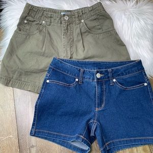 Two Pair Size 4 Women's Shorts